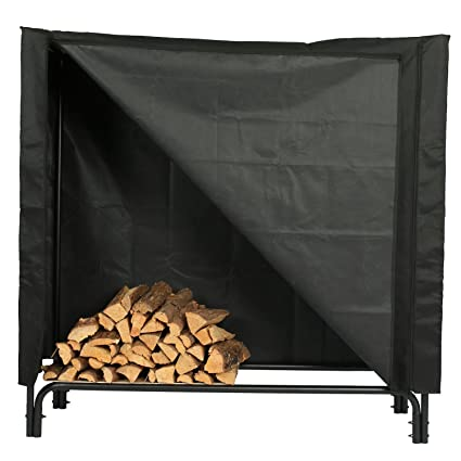 Amazon.com: 1.GO para leña cubierta de estante, para todo ...