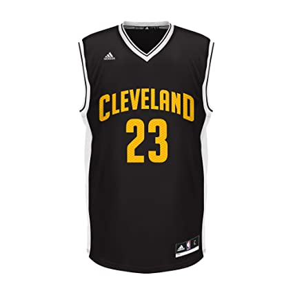 finest selection 42d89 72fda Buy NBA Cleveland Cavaliers LaBron James #23 Chevron Fashion ...