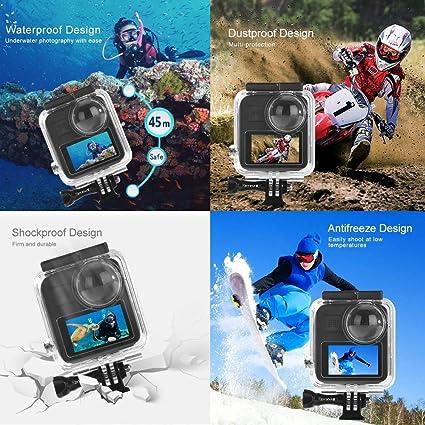 Puluz Wasserdichtes Gehäuse Für Gopro Max Kamera