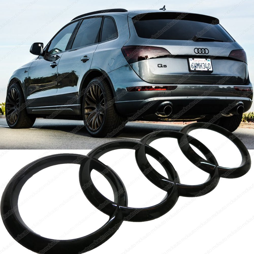 Mck auto 20010 car black glossy rear boot trunk badge rings logo mck auto 20010 car black glossy rear boot trunk badge rings logo amazon car motorbike sciox Gallery
