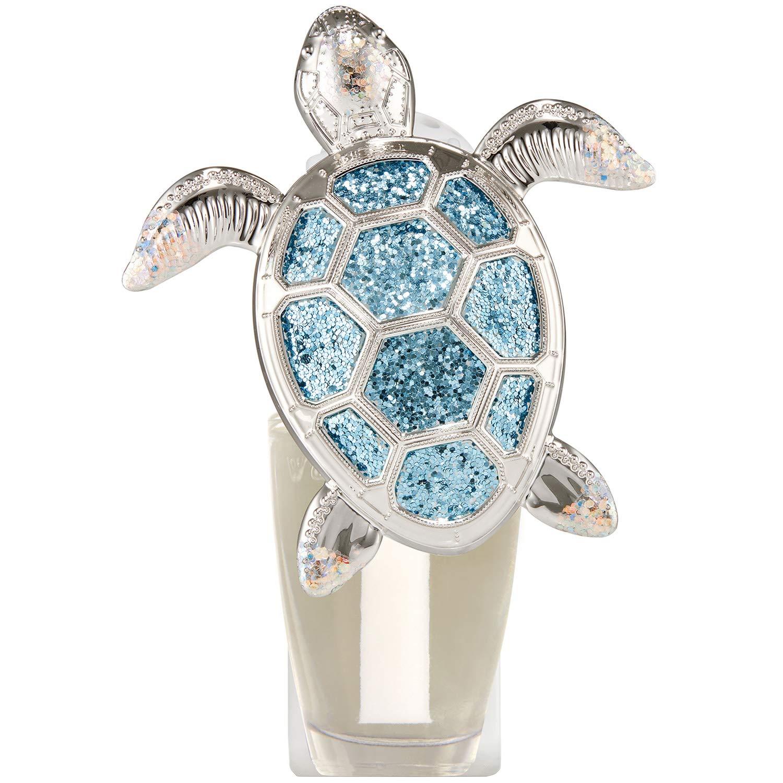 Bath and Body Works White Barn Glittery Sea Turtle Wallflower Plug In Silver and Blue by Bath & Body Works (Image #3)