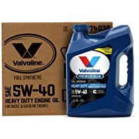 Valvoline - 774038 Premium Blue Extreme SAE 5W-40 Full Synthetic Engine Oil 1 GA, Case of 3
