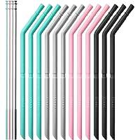 12-Set OTAGO Reusable Collapsible Straws