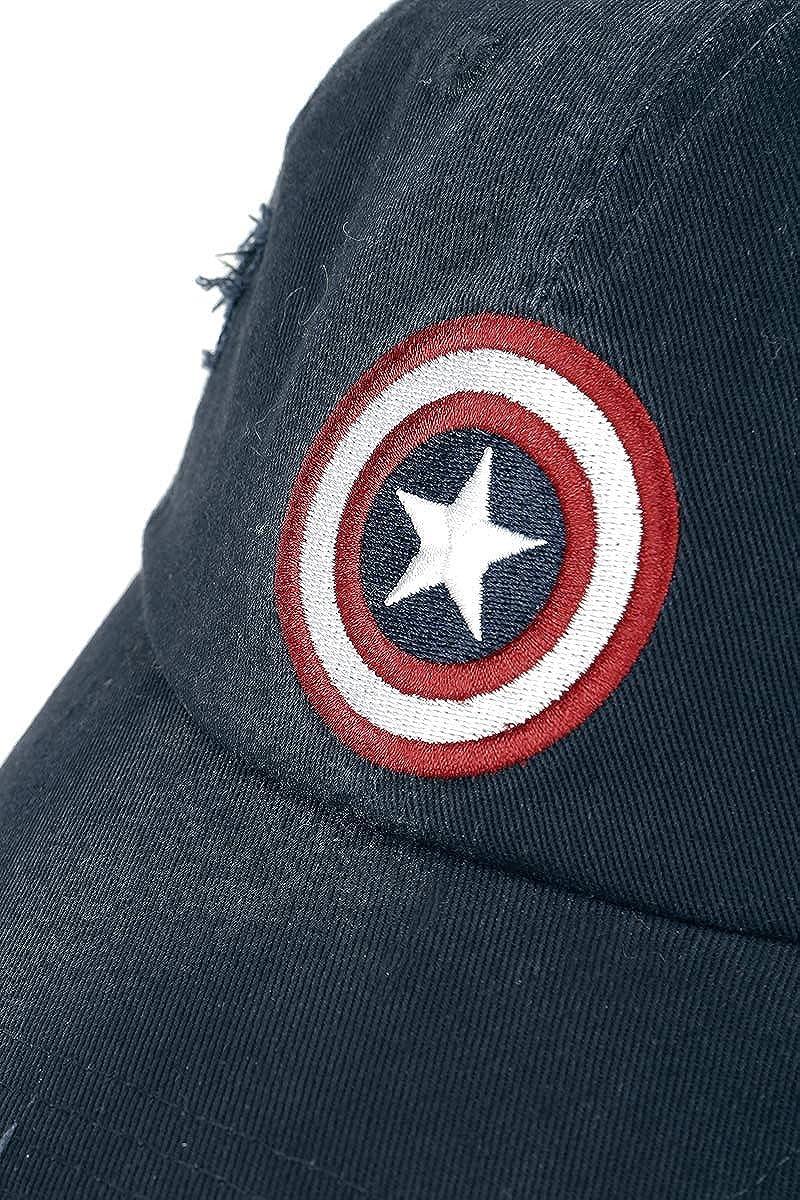 Vintage Casquette Marine Captain America Logo