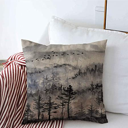Abstract Painting Cotton Linen Pillow