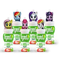 good2grow My Little Pony Collector Pack 100% Apple Juice, 6-pack of 6-Ounce Spill-proof...