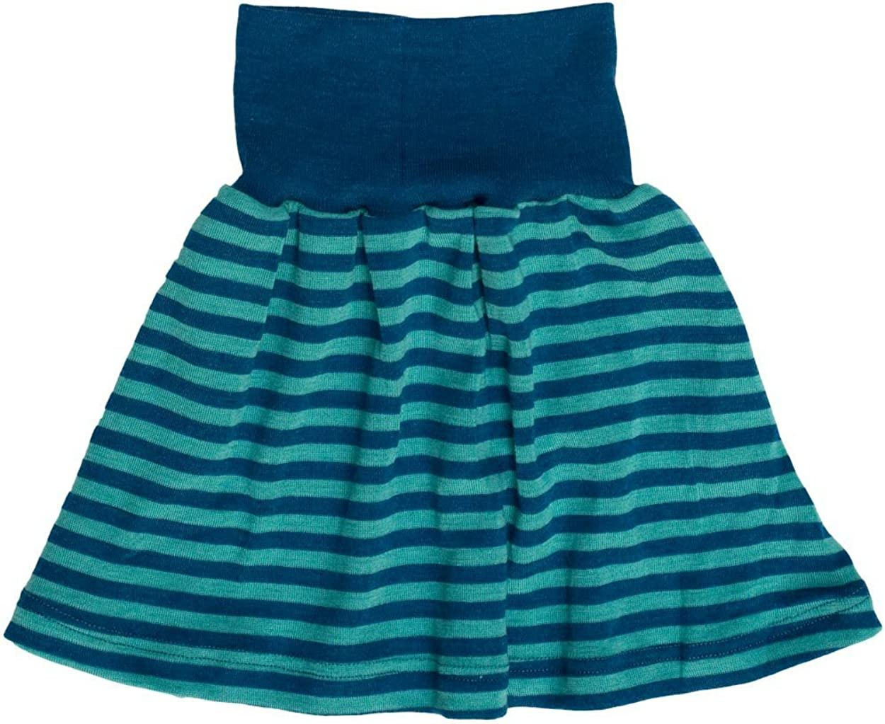 2 Colors Engel Natur Girls Skirt With Soft Cuff Merino Wool And Silk