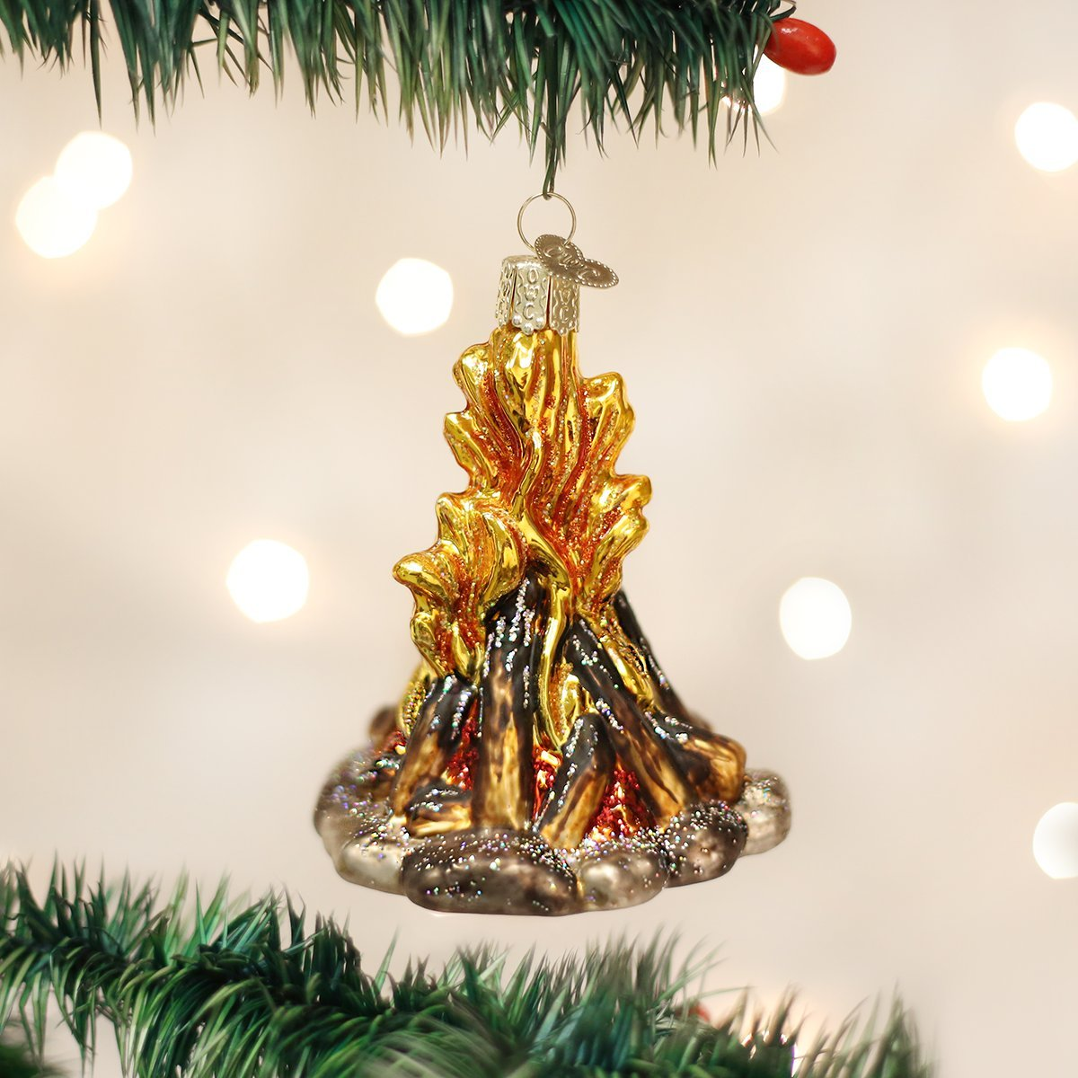Amazon.com: Old World Christmas Ornaments: S\'More Glass Blown ...