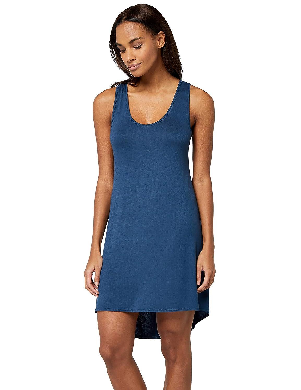 Iris /& Lilly Cross Strap Back Camicia da Notte Donna 42 Insignia Blue Blu Taglia Produttore: Small