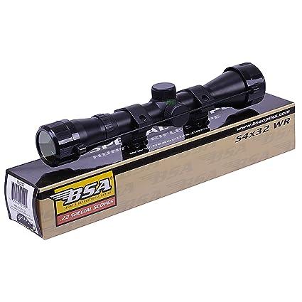 BSA WR 4x32 Telescopic Air Gun Rifle Scope Sight Supplied With 11mm 3/8