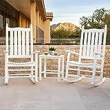 Prescott 3-piece Rocker white