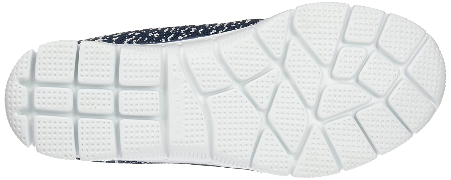 Skechers Damen Fitnessschuhe, Empire-Connections Outdoor Fitnessschuhe, Damen Schwarz Blau (Nvw) e42297