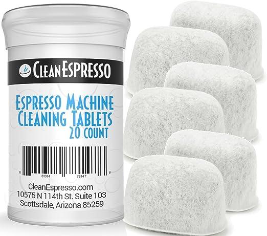 Amazon.com: CleanEspresso Breville - Tabletas de limpieza ...