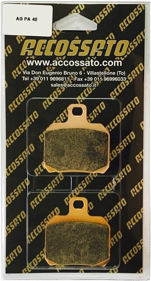 800 DUCATI  796 HYPERMOTARD Accossato Pastiglia freno AGPA42OR 2010-2012