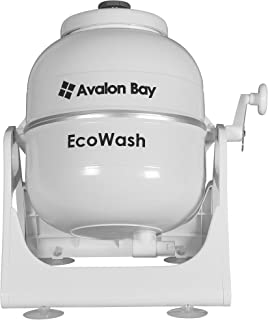 Ecowash Portable Hand Cranked Manual Clothes Non Electric Washing Machine  By Avalon Bay, Counter