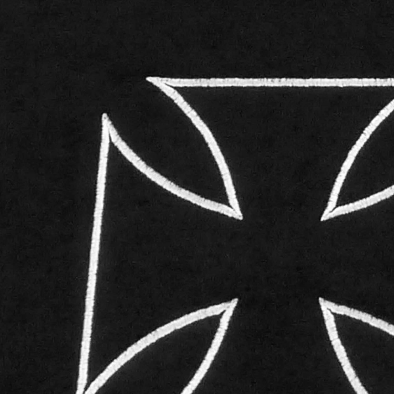 JOM 20699 Fu/ßmatten mit Iron Cross Motiv 4-teilig
