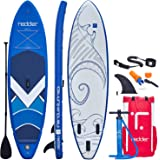 redder Stand Up Paddle Board Inflatable SUP Board All Round Adult and Kids Paddle Board with Leash, Paddle, Backpack…