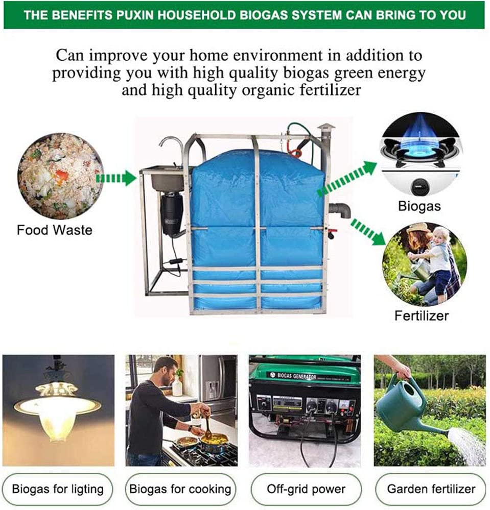 PUXIN Small Home Use Mini Biodigester Anaerobic Digester Tank to ...