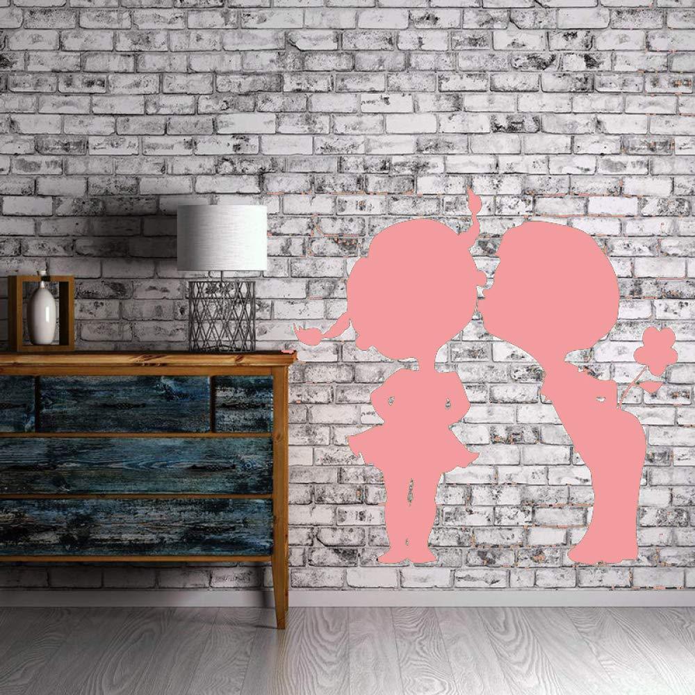 Beso Besos Vinilo Tatuajes de pared Pareja Amor romántico Niños ...