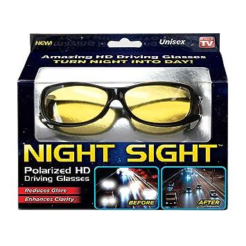 Amazon.com: Ontel Night Sight - Gafas de sol polarizadas HD ...