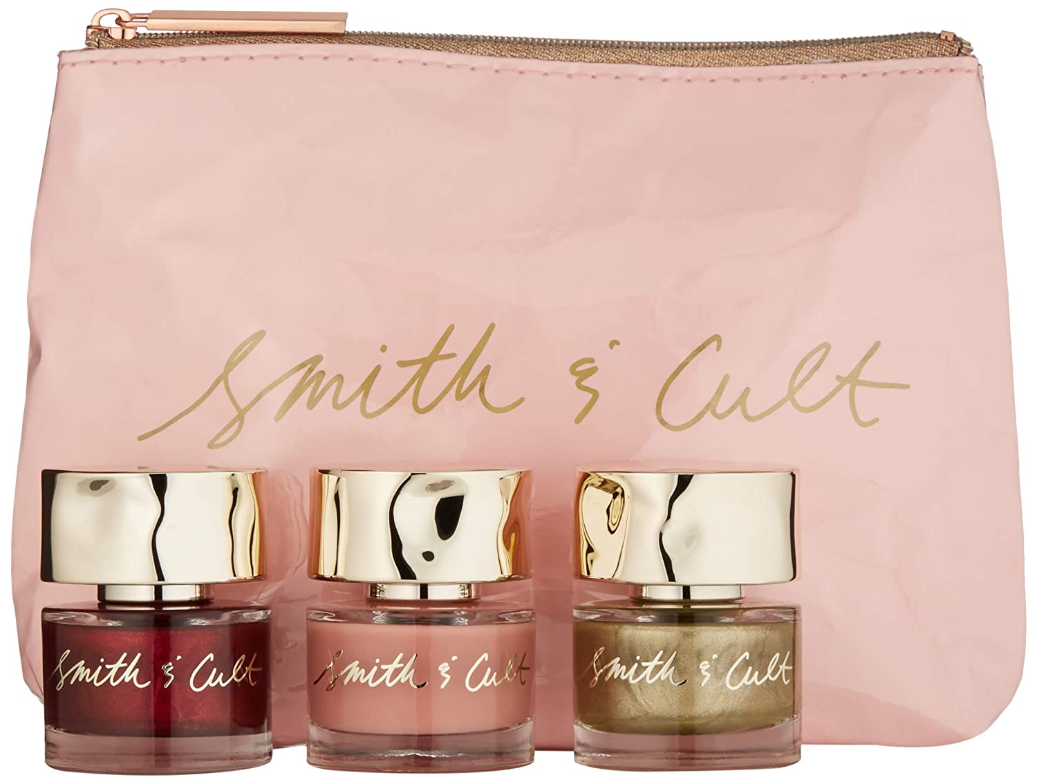 Smith & Cult Nail Lacquer Holiday Gift Set. Best nail gifts and nail gift sets for beauty lovers. Best nail colors for fall and Christmas to gift to a beauty lover. Christmas gifts for teenage girl in 2020. Birthday gifts for teen girls and women who love beauty. Holiday gifts 2020
