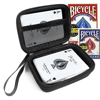 Amazon.com: FitSand Carcasa rígida para bicicleta tamaño de ...