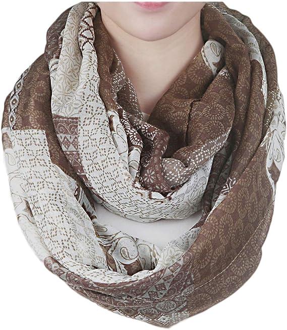 10 Schals für Damen XXL Schals, Schlauchschals