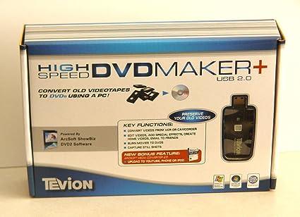 TEVION HIGH SPEED DVD MAKER USB 2.0 DESCARGAR CONTROLADOR