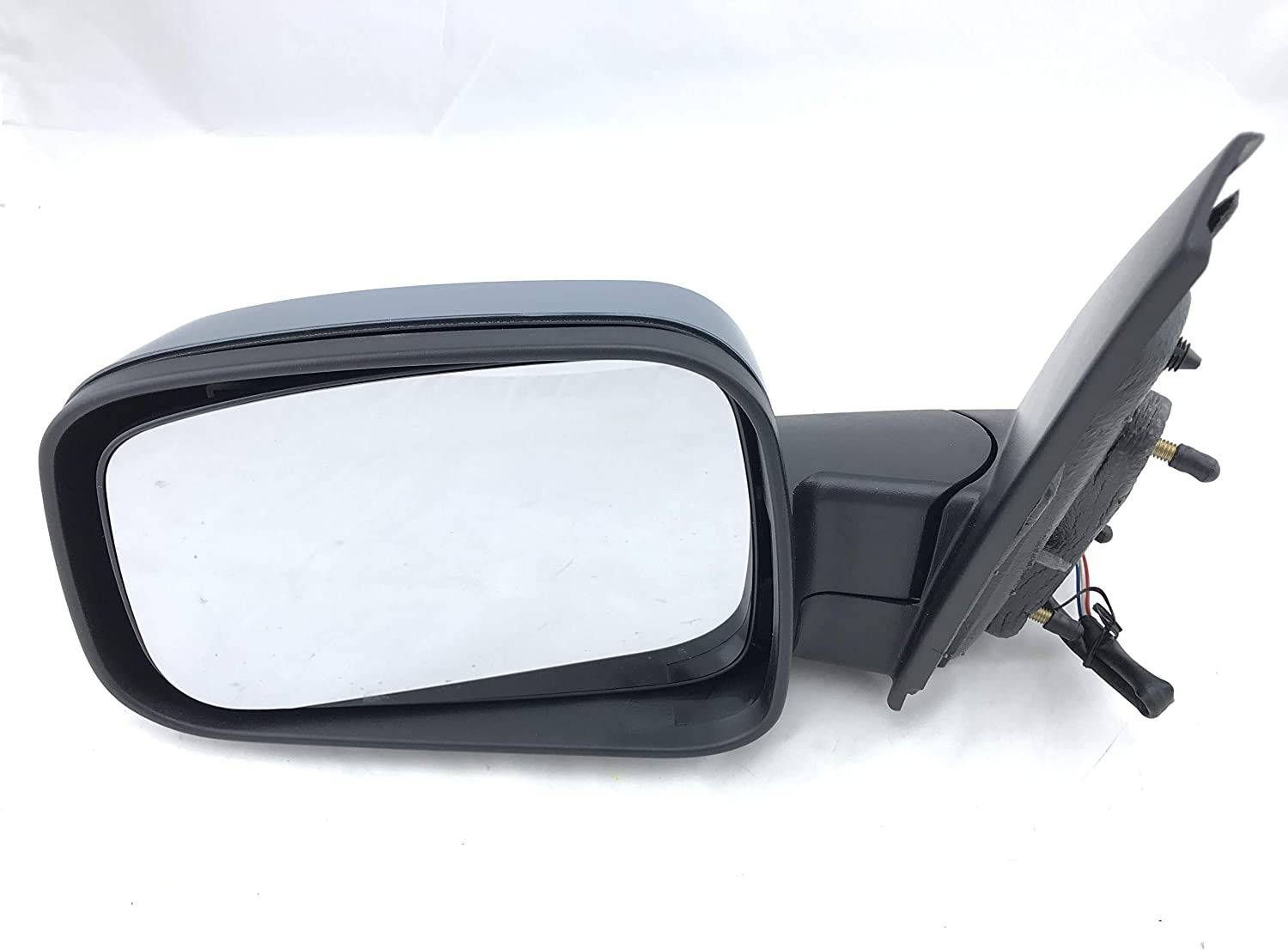 Passenger Side Mirror for Chevrolet HHR 06-11 PWR N-HT MIR LH OE: GM1320366 PTM GRAY | Left Outside Rear View Mirror Parts Link #: 20923845