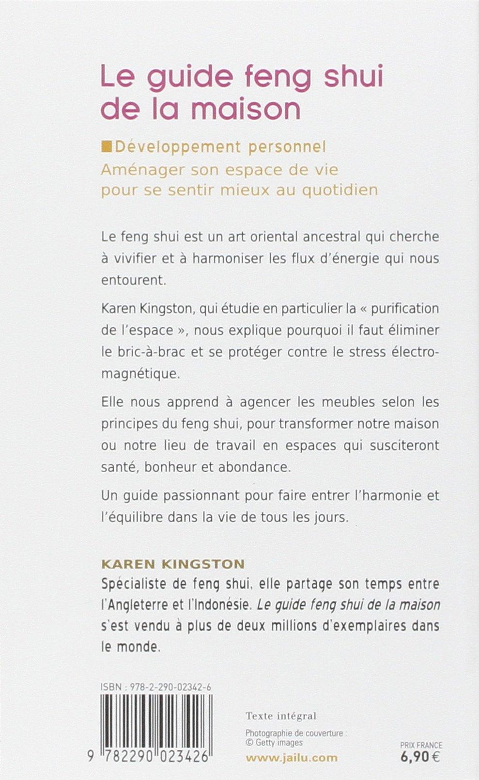 Le Guide Feng Shui De La Maison French Edition Karen Kingston