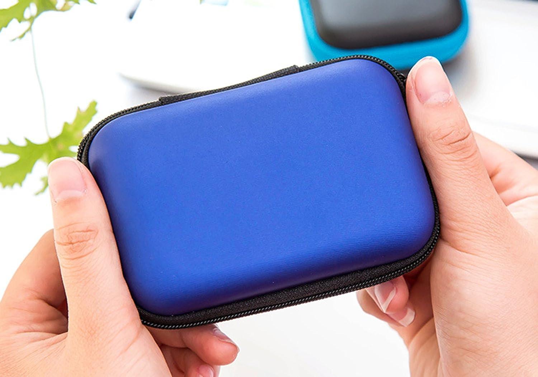 Apple AirPods,iPod Shuffle,Memoria,Filtro Lente LUCKLYSTAR Funda para Auriculares Mini Bolsa Almacenamiento R/ígida Coleccion Cremallera Zipper Cubierta Bag Caja Estuche para Auriculares Bluetooth