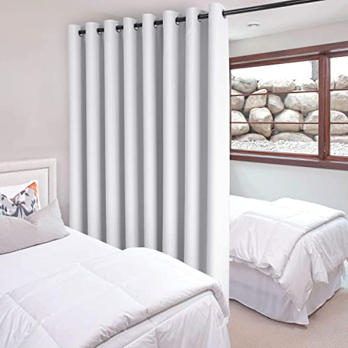 DWCN Total Privacy Room Divider Blackout Curtain