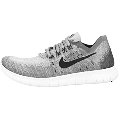 8f424d58753 ... new arrivals nike mens free rn flyknit 2017 running shoe wolf grey  black anthracite cool 87008