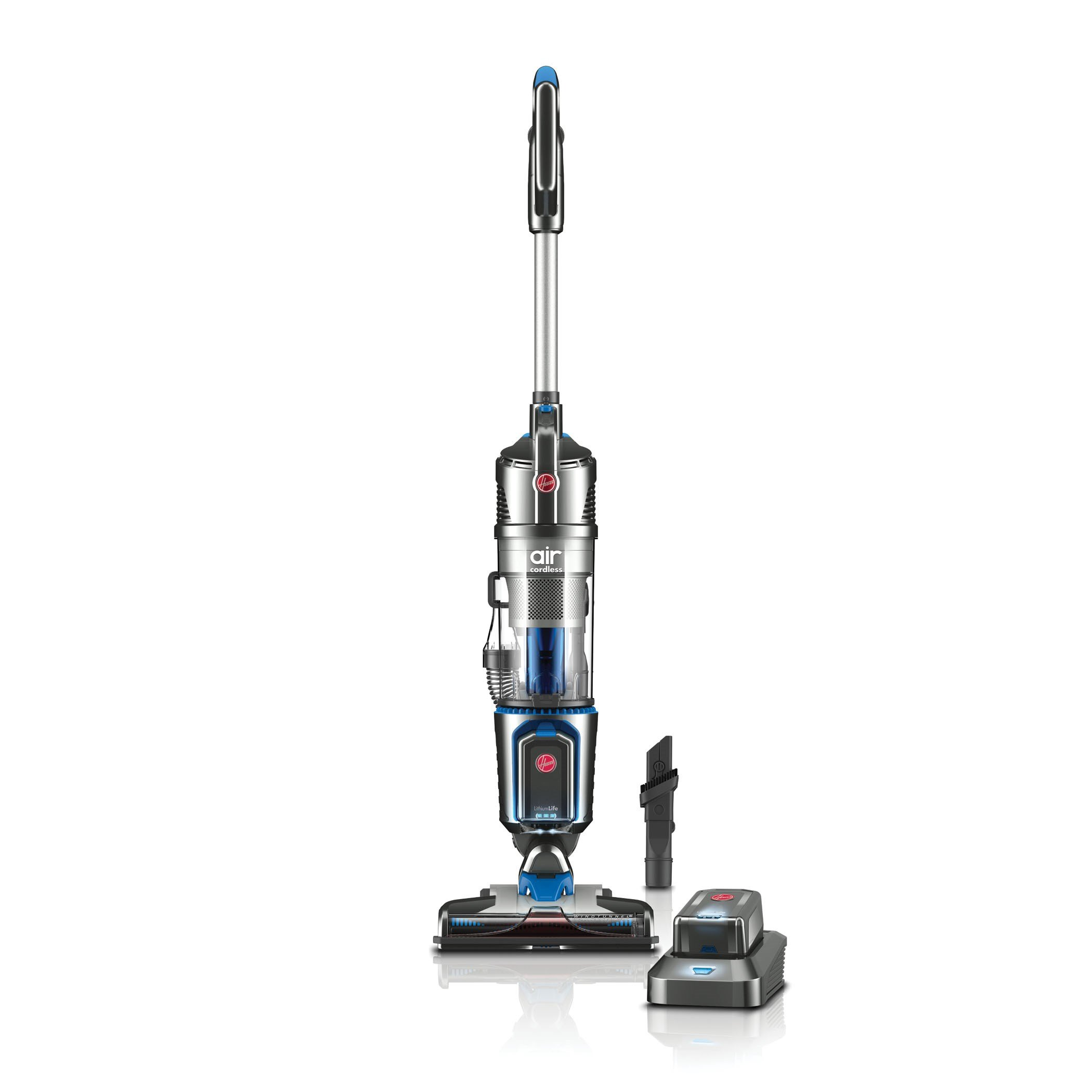 Hoover Air Cordless 20 Volt Lithium Ion Bagless Steerable Upright Vacuum Cleaner, BH50111 by Hoover