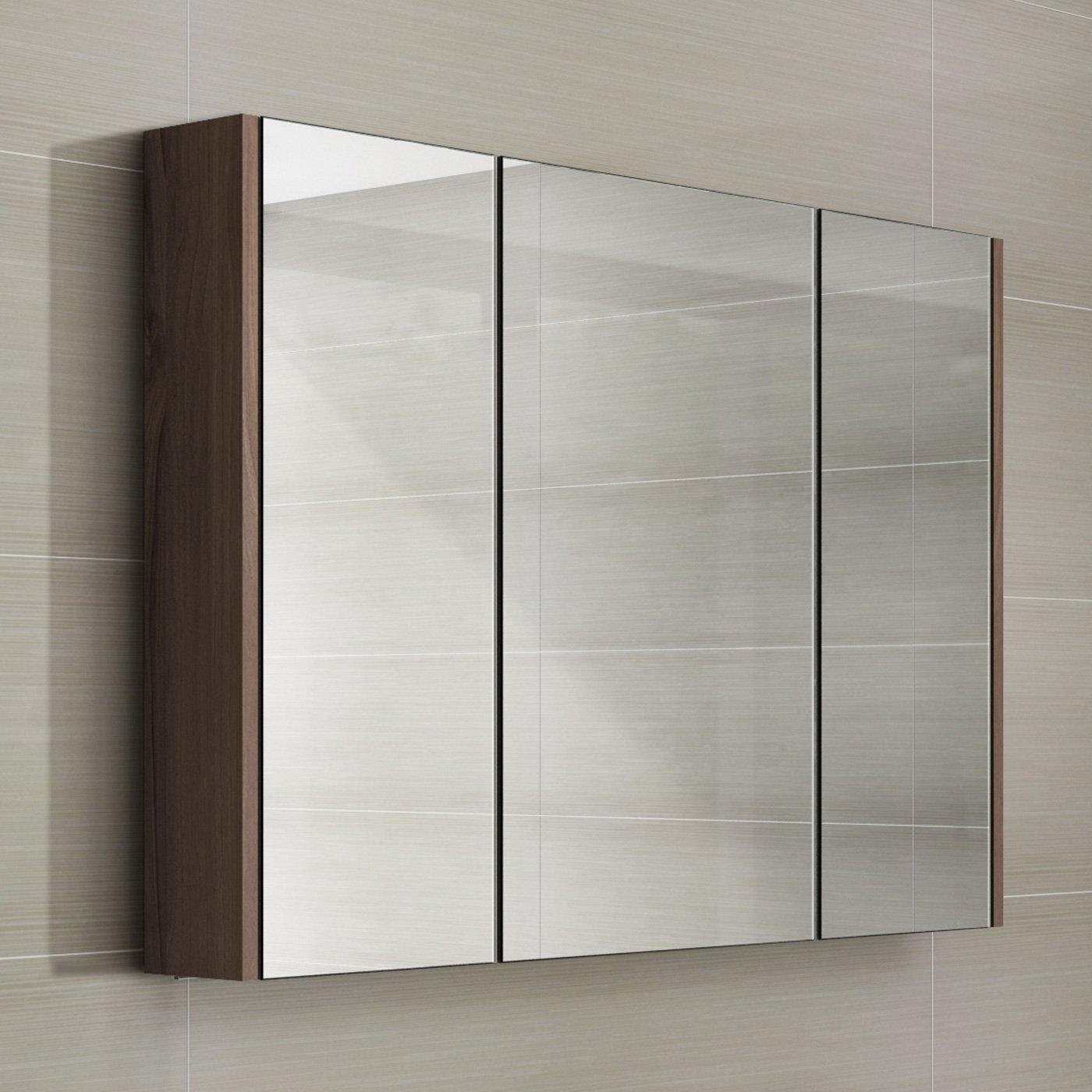 Walnut Bathroom Cabinet: Amazon.co.uk