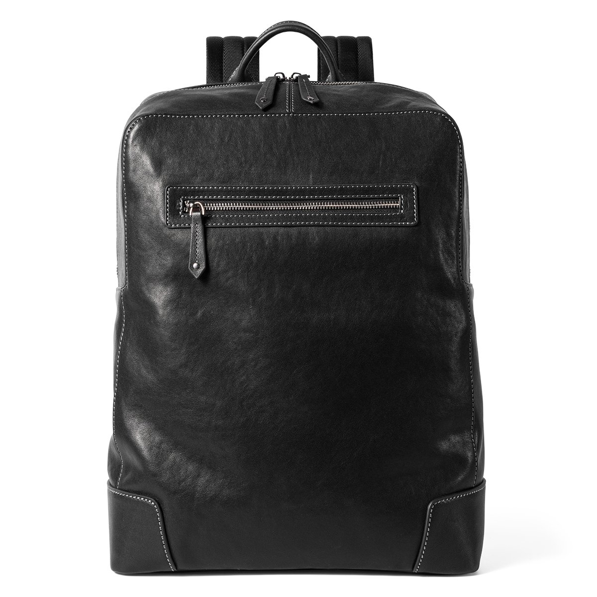 Sharkborough The Signature Entrepreneur Mens Backpack Genuine Leather for Casual Daypacks