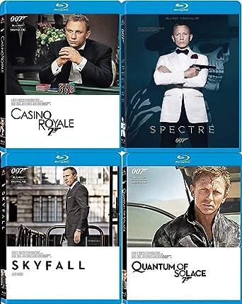 4f9c606bb721d Amazon.com: Modern Agent 4 Film 007 Collection The Secret SPECTRE ...