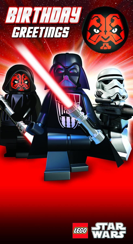 Lego LS017 Star Wars - Tarjeta de felicitación de cumpleaños ...