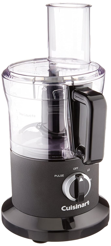 Cuisinart DLC-6BWFR 8 Cup Food Processor (Certified Refurbished), Black