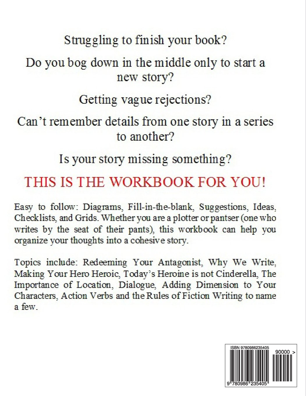 Plotting Your Story Arc, Workbook for Fiction Writers, Plotters ...