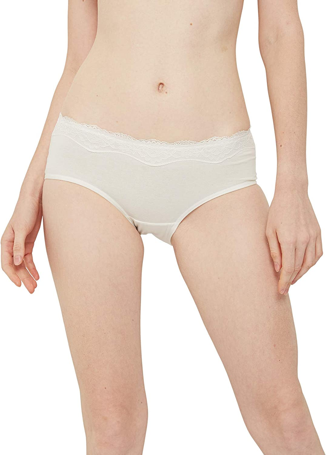 INNERSY Womens Lace Underwear Cotton Hipster Panties Regular /& Plus Size 6-Pack