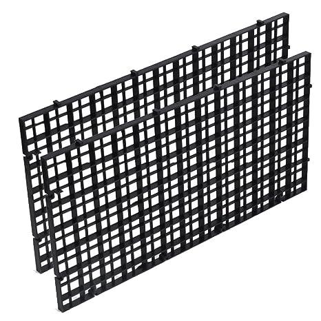 HMOCNV - Bandeja separadora para acuario, color blanco transparente