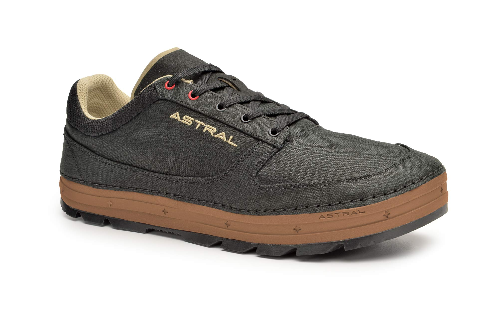 Astral Men's Hemp Donner Casual Minimalist Shoes, Breathable and Lightweight, Made for Outdoor Activities and Travel, Black Brown, 10.5 M US