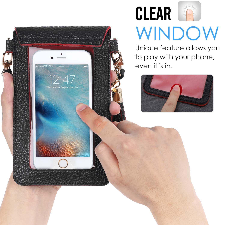 moko generic cell phone bag pu leather crossbody bag mini. Black Bedroom Furniture Sets. Home Design Ideas