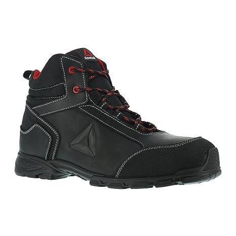 REEBOK WORK IB1025 S3 Audacious Sport Botas de seguridad de aluminio, impermeables, negro/rojo, 39, negro/rojo, 1: Amazon.es: Industria, empresas y ciencia