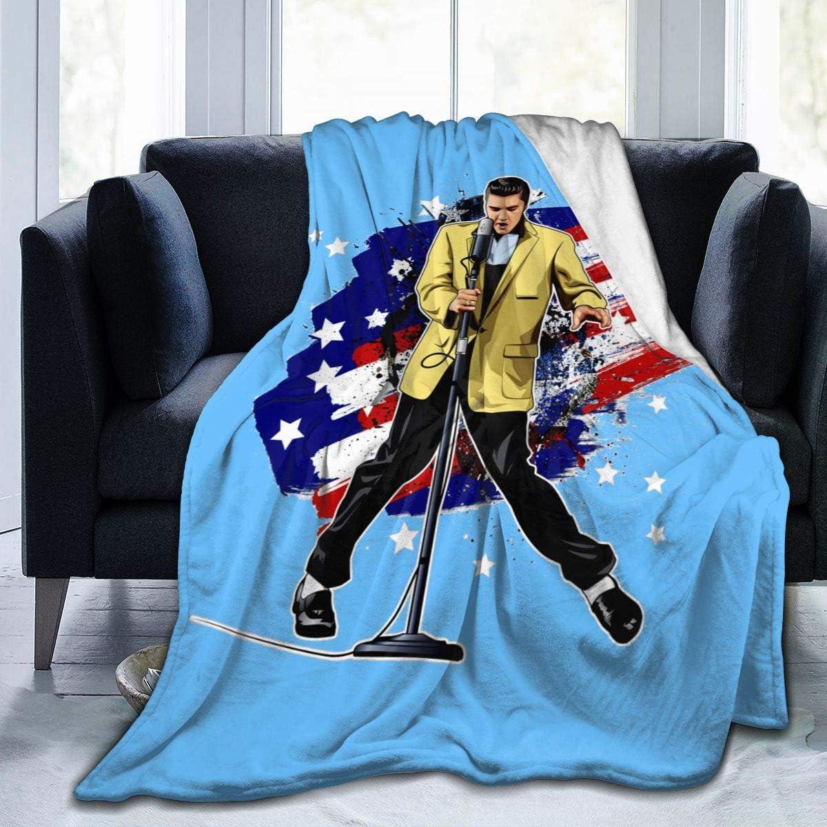Elvis Presley Soft and Warm Throw Blanket