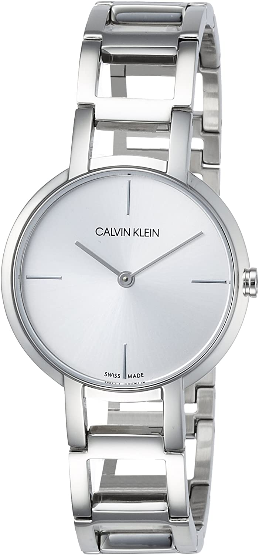 Calvin Klein Reloj Analógico para Mujer de Cuarzo con Correa en Acero Inoxidable K8N23146