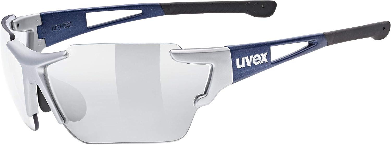 Uvex Sportstyle 803 Race VM Gafas de Deporte, Adultos Unisex, Silver Blue Metallic, One Size
