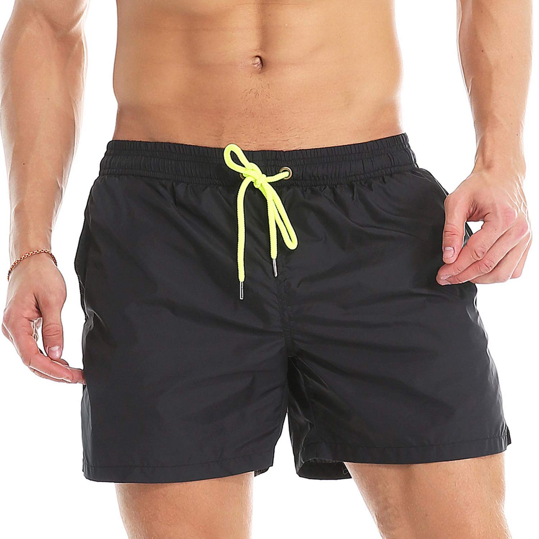 STTLZMC Shorts de Bain Homme S/échage Rapide Respirant Exercice Drawstring Short M-XXL