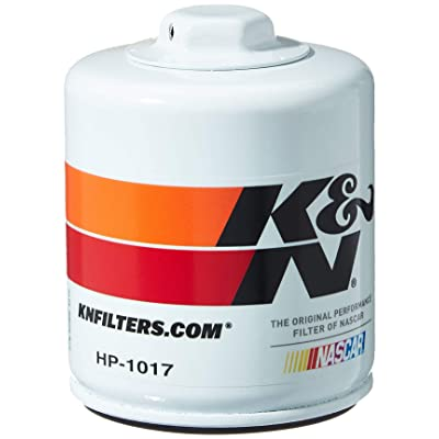 K&N Premium Oil Filter: Designed to Protect your Engine: Fits Select ALFA ROMEO/BUICK/CHEVROLET/DODGE Vehicle Models (See Product Description for Full List of Compatible Vehicles), HP-1017: Automotive